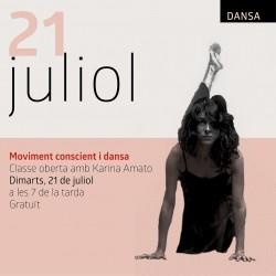 Classe oberta amb Karina Amato